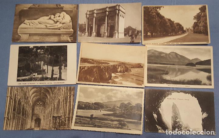 Postales: Lote de 100 postales de Inglaterra varias decadas - ver fotos - Foto 7 - 151544374