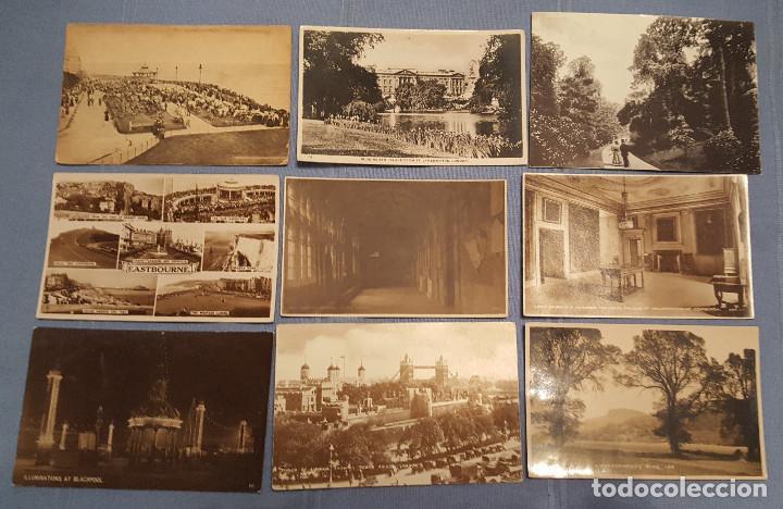 Postales: Lote de 100 postales de Inglaterra varias decadas - ver fotos - Foto 8 - 151544374