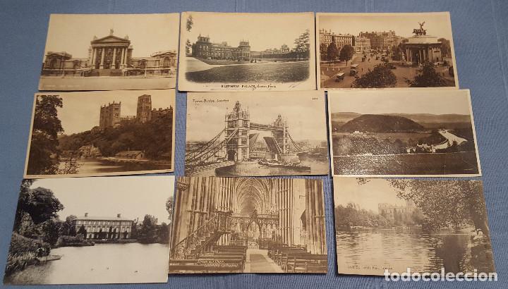 Postales: Lote de 100 postales de Inglaterra varias decadas - ver fotos - Foto 9 - 151544374