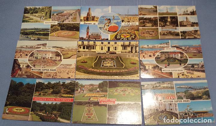 Postales: Lote de 100 postales de Inglaterra varias decadas - ver fotos - Foto 10 - 151544374