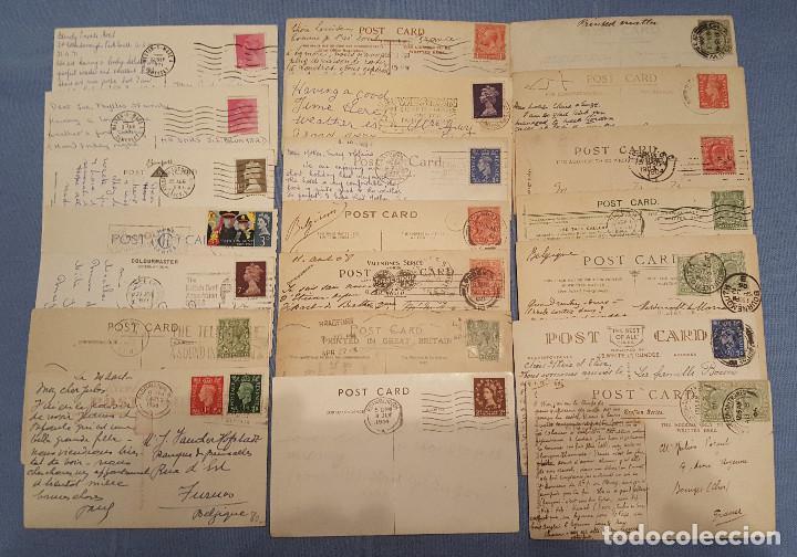 Postales: Lote de 100 postales de Inglaterra varias decadas - ver fotos - Foto 12 - 151544374