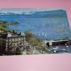Postales: POSTAL-SUIZA-ZURICH-CIRCULADA-VER FOTOS. Lote 151712694