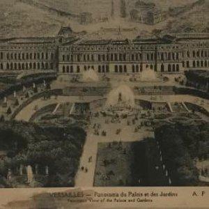 Versailles. 20 postales 30x11,6 cm