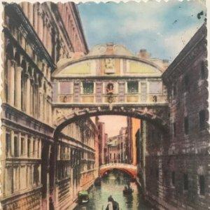 Postal antigua Venecia