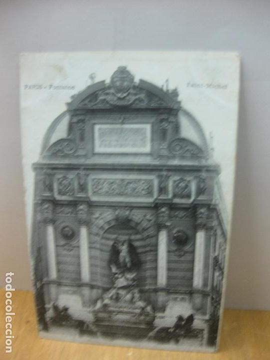 POSTAL PARIS -FONTAINE. SAINT MICHEL. (Postales - Postales Extranjero - Europa)