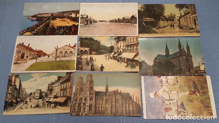 LOTE DE 100 POSTALES DE FRANCIA - VER FOTOS (Postales - Postales Extranjero - Europa)