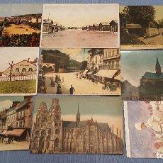 Postales: LOTE DE 100 POSTALES DE FRANCIA - VER FOTOS. Lote 152534458
