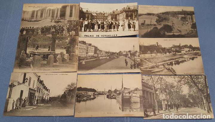Postales: Lote de 100 postales de Francia - ver fotos - Foto 2 - 152534458