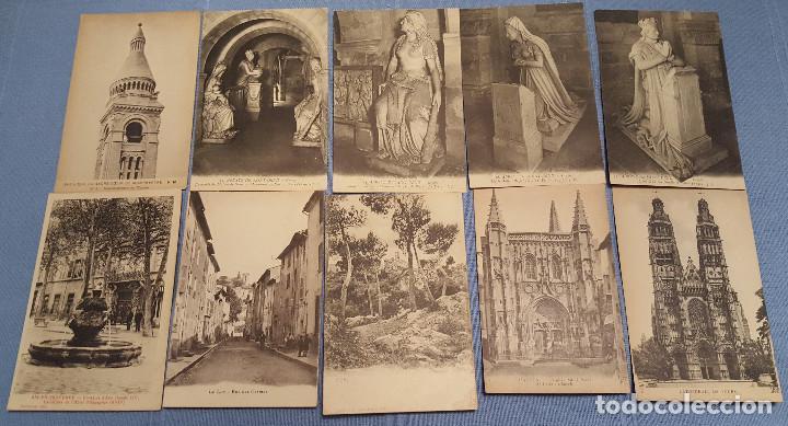 Postales: Lote de 100 postales de Francia - ver fotos - Foto 5 - 152534458