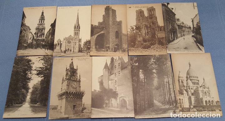 Postales: Lote de 100 postales de Francia - ver fotos - Foto 9 - 152534458