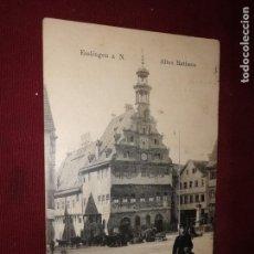 Cartes Postales: ALEMANIA. CARTERO. ESSLINGEN. Lote 152578750