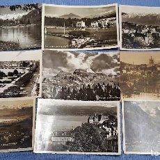 Postales: LOTE 86 POSTALES DE SUIZA - VER TODAS LAS FOTOS. Lote 153211174