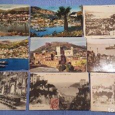 Postales: LOTE DE 94 POSTALES DE MONACO - VER TODAS LAS FOTOS. Lote 153212170