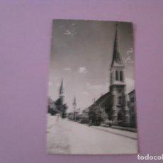 Postales: POSTAL DE SUIZA. LA CHAUX-DE-FONDS. LES TROIS CLOCHERS. CIRCULADA 1959.. Lote 153262318