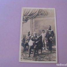 Postales: ALEMANIA. 4 GENERACIONES DE CASA REAL KAISER GUILLERMO II. WILHELM II.. Lote 153461154