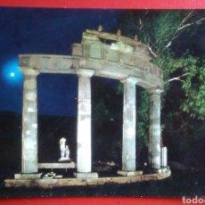 Postales: BONITA POSTAL ITALIA TIVOLI VILLA ADRIANA NOCTURNO TEMPLO DE VENUS. Lote 153477773