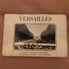 Postales: VERSAILLES. BLOCK. 27 CARTES POSTALES PHOTOGRAPHIQUES. EDITIONS EPIC. PARÍS. Lote 153685337