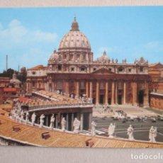 Postales: 6443 ITALIA ITALIE ITALY LAZIO ROMA ROME PIAZZA S. PIETRO. Lote 154044710