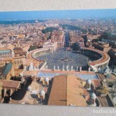 Postales: 6445 ITALIA ITALIE ITALY LAZIO ROMA ROME PIAZZA S. PIETRO. Lote 154045030