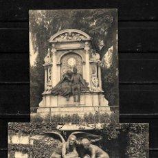 Postales: BRUSELAS ANTIGUAS POSTALES LOTE DE 2 POSTALES . Lote 154324314