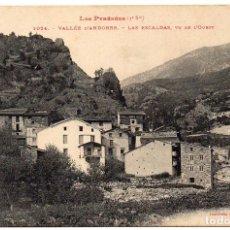 Postales: PS8085 ANDORRA 'LAS ESCALDAS. VISTA DEL OESTE'. LABOUCHE FR. SIN CIRCULAR. PRINC. S. XX. Lote 154803006