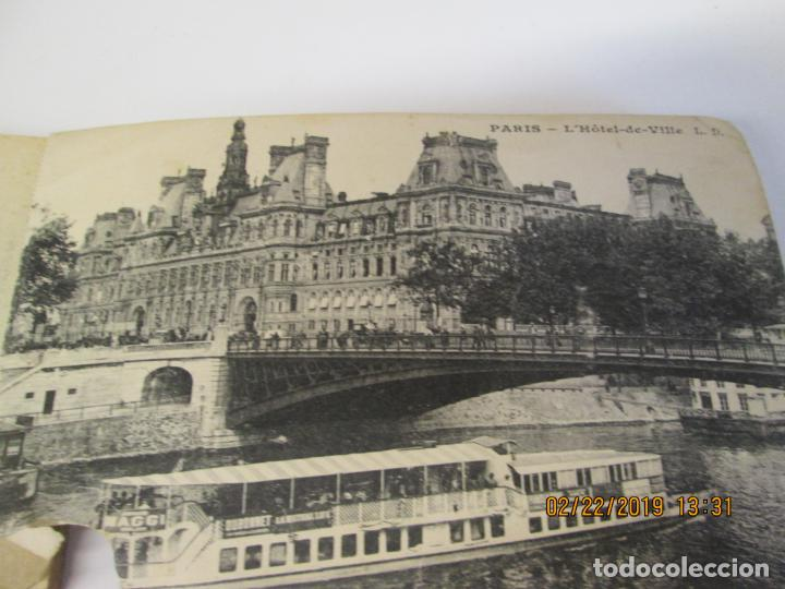 Postales: SOUVENIR DE PARIS - LIBRITO 20 POSTALES MAGNIFICAS DE MONUMENTOS DE PARIS. - Foto 2 - 155166870
