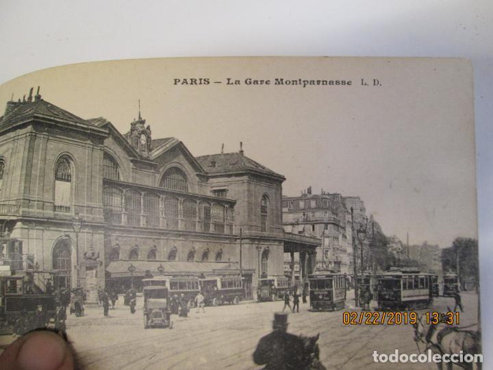 Postales: SOUVENIR DE PARIS - LIBRITO 20 POSTALES MAGNIFICAS DE MONUMENTOS DE PARIS. - Foto 3 - 155166870
