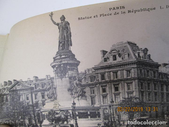 Postales: SOUVENIR DE PARIS - LIBRITO 20 POSTALES MAGNIFICAS DE MONUMENTOS DE PARIS. - Foto 5 - 155166870