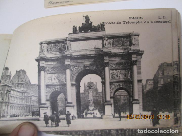 Postales: SOUVENIR DE PARIS - LIBRITO 20 POSTALES MAGNIFICAS DE MONUMENTOS DE PARIS. - Foto 6 - 155166870