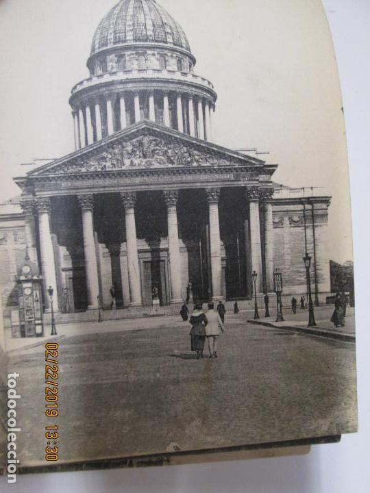 Postales: SOUVENIR DE PARIS - LIBRITO 20 POSTALES MAGNIFICAS DE MONUMENTOS DE PARIS. - Foto 8 - 155166870