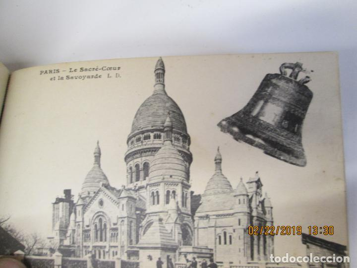 Postales: SOUVENIR DE PARIS - LIBRITO 20 POSTALES MAGNIFICAS DE MONUMENTOS DE PARIS. - Foto 9 - 155166870