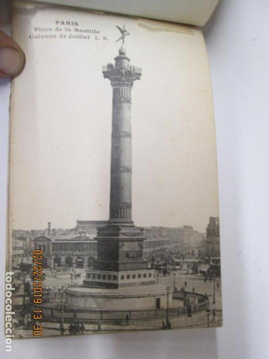 Postales: SOUVENIR DE PARIS - LIBRITO 20 POSTALES MAGNIFICAS DE MONUMENTOS DE PARIS. - Foto 10 - 155166870