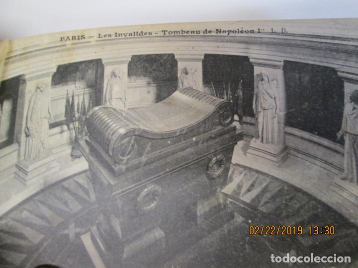 Postales: SOUVENIR DE PARIS - LIBRITO 20 POSTALES MAGNIFICAS DE MONUMENTOS DE PARIS. - Foto 11 - 155166870