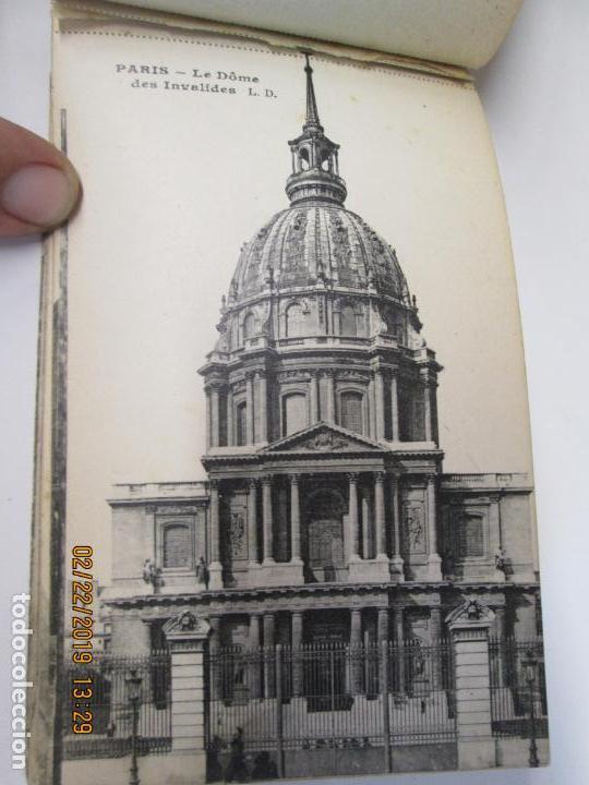 Postales: SOUVENIR DE PARIS - LIBRITO 20 POSTALES MAGNIFICAS DE MONUMENTOS DE PARIS. - Foto 12 - 155166870