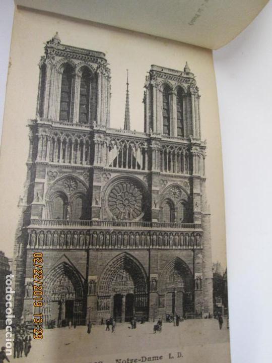 Postales: SOUVENIR DE PARIS - LIBRITO 20 POSTALES MAGNIFICAS DE MONUMENTOS DE PARIS. - Foto 13 - 155166870