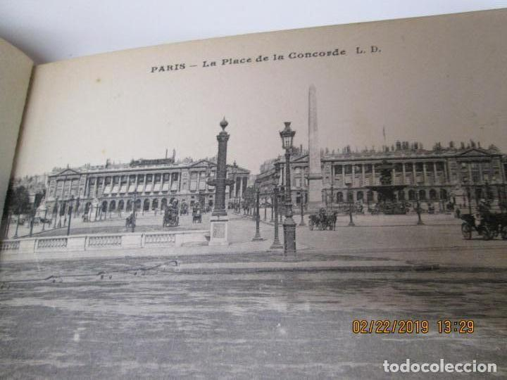 Postales: SOUVENIR DE PARIS - LIBRITO 20 POSTALES MAGNIFICAS DE MONUMENTOS DE PARIS. - Foto 14 - 155166870