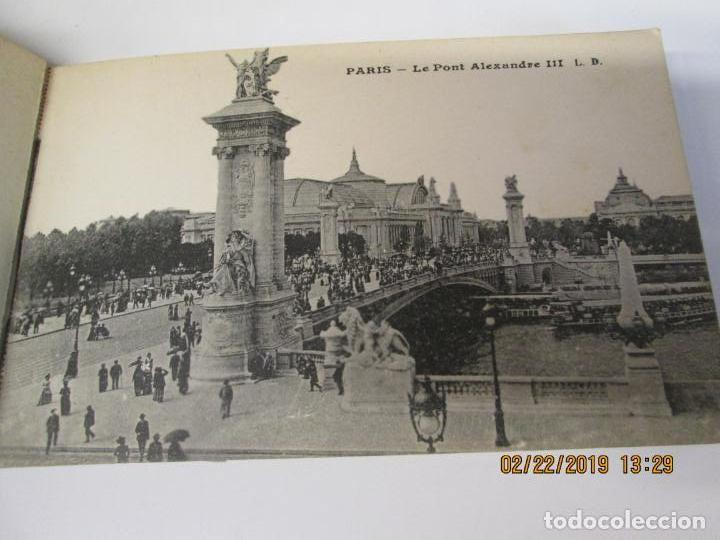 Postales: SOUVENIR DE PARIS - LIBRITO 20 POSTALES MAGNIFICAS DE MONUMENTOS DE PARIS. - Foto 15 - 155166870