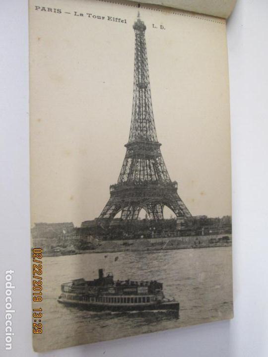 Postales: SOUVENIR DE PARIS - LIBRITO 20 POSTALES MAGNIFICAS DE MONUMENTOS DE PARIS. - Foto 16 - 155166870