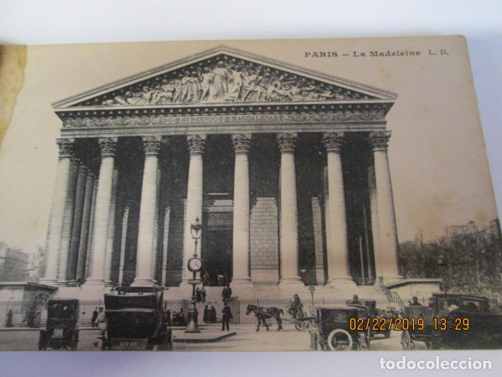 Postales: SOUVENIR DE PARIS - LIBRITO 20 POSTALES MAGNIFICAS DE MONUMENTOS DE PARIS. - Foto 17 - 155166870