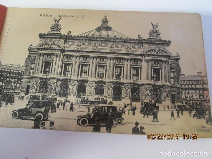 Postales: SOUVENIR DE PARIS - LIBRITO 20 POSTALES MAGNIFICAS DE MONUMENTOS DE PARIS. - Foto 19 - 155166870