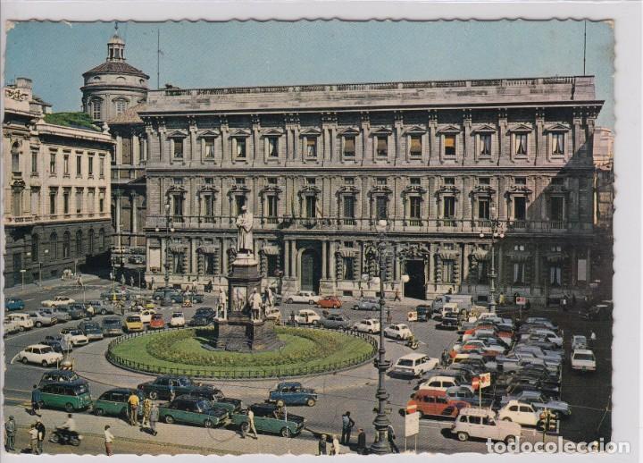 ESCASA POSTAL MILANO PIAZZA DELLA SCALA - PALAZZO MARINO (Postales - Postales Extranjero - Europa)