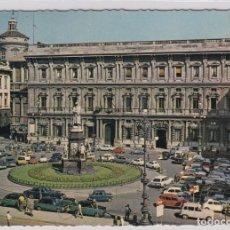 Postales: ESCASA POSTAL MILANO PIAZZA DELLA SCALA - PALAZZO MARINO. Lote 155300522