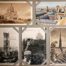 Postales: ALBUM DE FOTOGRAFIA POSTAL CON MAS DE 450. DE PRINCIPIOS DEL XX DE MONUMENTOS FRANCESES Y DE EPOCA. Lote 155482602