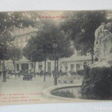 Postales: ANTIGUA POSTAL TARBES - LES HAUTES- PYRÉNÉES, FRANCIA - LA FONTAINE - CIRCULADA - SELLOS . Lote 155730958