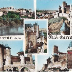 Postales: CARCASSONNE, AUDE, FRANCIA. Lote 155797278