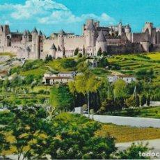 Postales: CITE DE CARCASSONNE, AUDE, VUE D´ENSEMBLE, FRANCIA. Lote 155797354