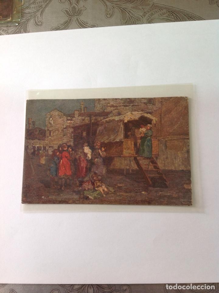 Postales: POSTALES ANTIGUAS (lote de 5 POSTALES en color) - Foto 2 - 155920100