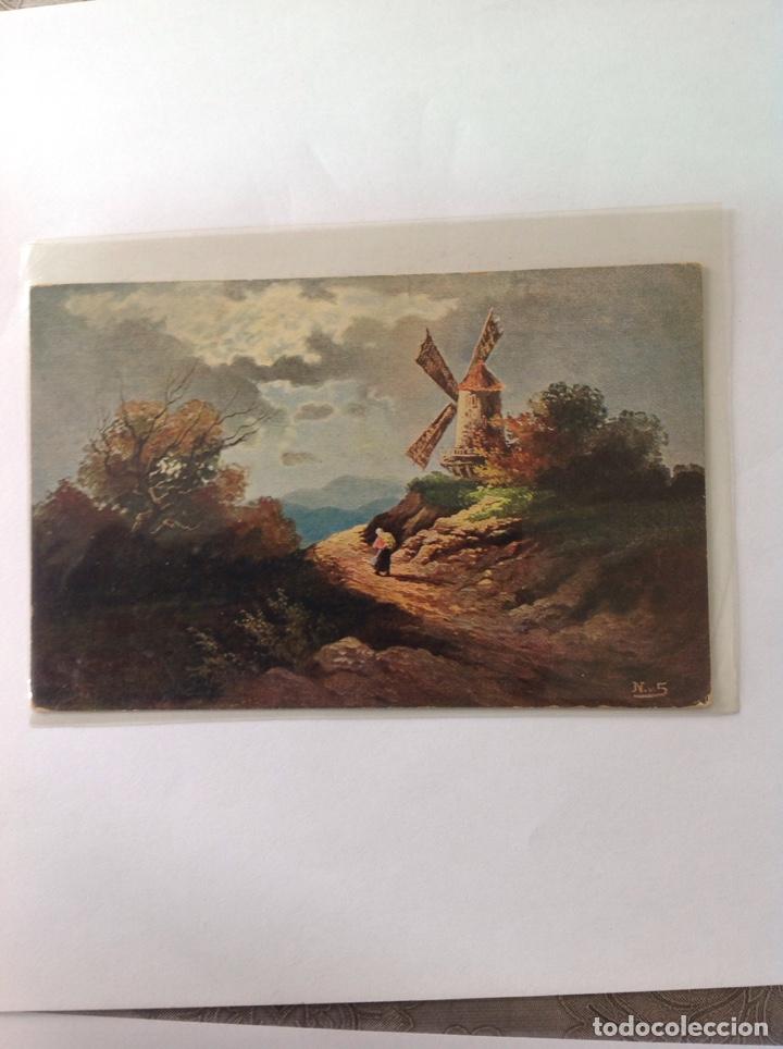 Postales: POSTALES ANTIGUAS (lote de 5 POSTALES en color) - Foto 4 - 155920100