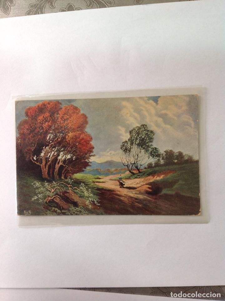 Postales: POSTALES ANTIGUAS (lote de 5 POSTALES en color) - Foto 8 - 155920100