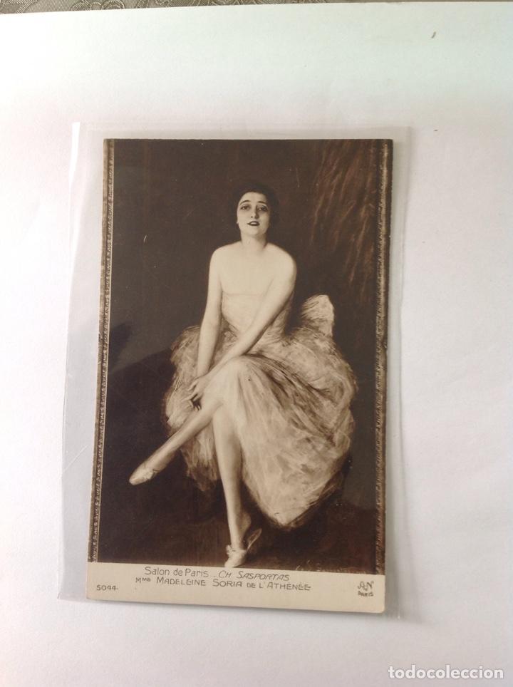 Postales: POSTALES ANTIGUAS (lote de 5 POSTALES salón de París) - Foto 6 - 155921941